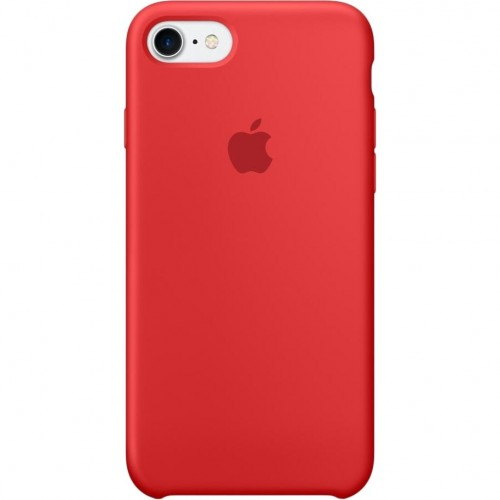 Apple Silicone Case (PRODUCT)RED for iPhone 7