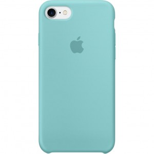 Apple Silicone Case Sea Blue for iPhone 7