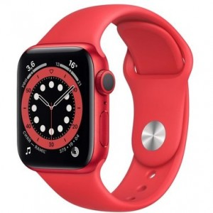 Apple Watch Series 6 44mm PRODUCT(RED) Aluminum Case with Red Sport Band (M00M3)
