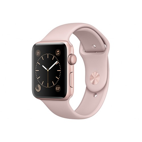 Apple Watch Series 3 GPS 42mm Gold Aluminium Case with Pink Sand Sport Band