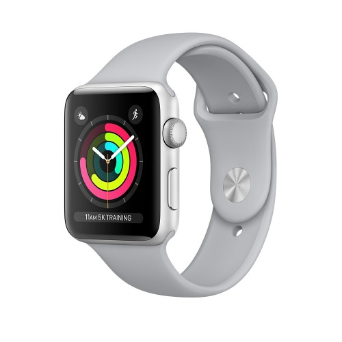 Apple Watch Series 3 GPS 42mm Silver Aluminum Case with Fog Sport Band