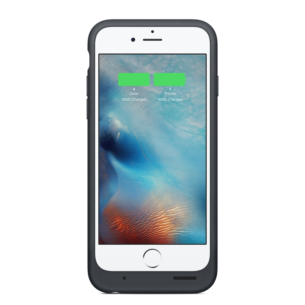 reputable site f4b23 7a254 Apple Smart Battery Case Charcoal Gray для iPhone 6/6S